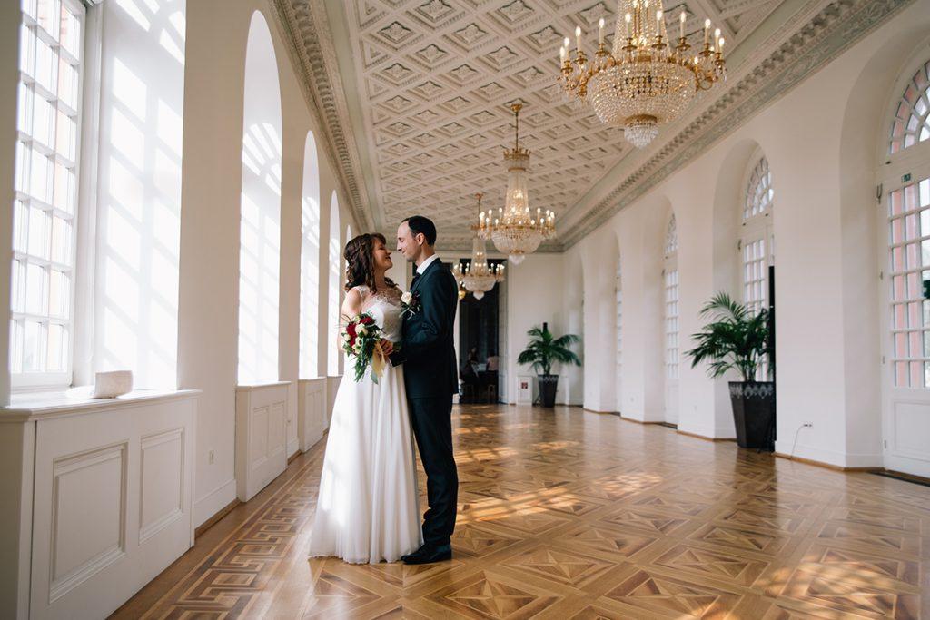 Hochzeitsfotografie Schloss Wiesbaden