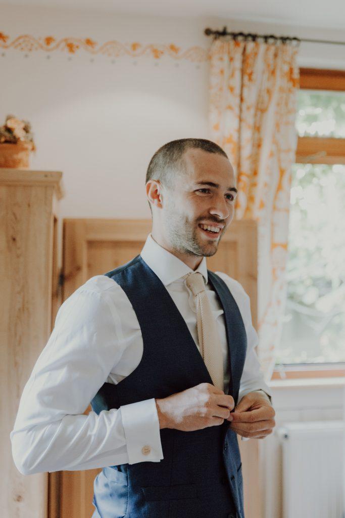 Hochzeitsfoto Bräutigam