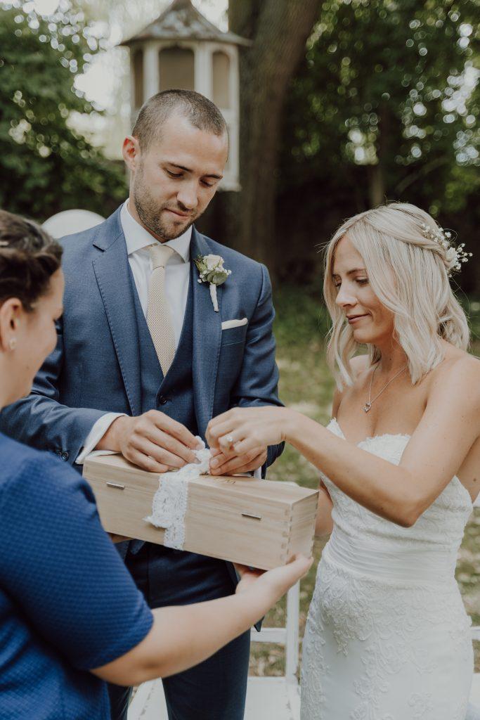 Hochzeitsfoto Zeromonie