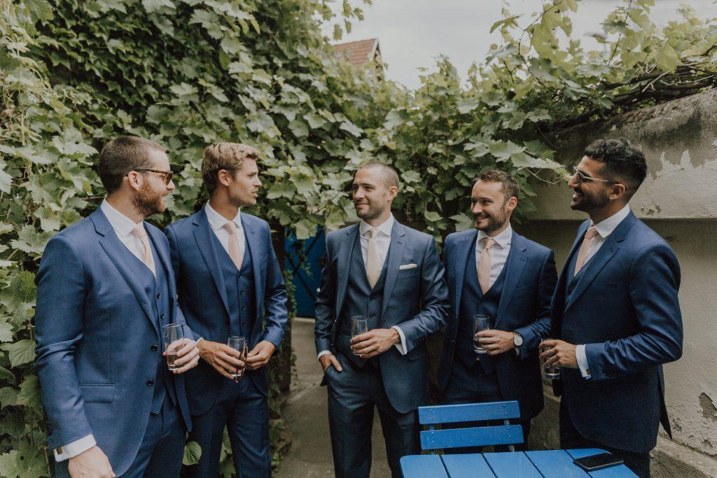 Hochzeitsfoto Männer